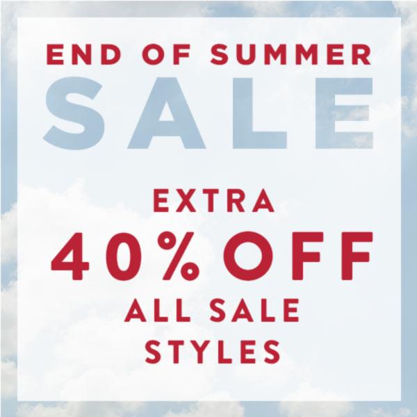 440% off all sale styles at J. Jill