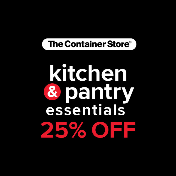 25% Off Kitchen Essentials at The Container Store