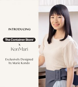 Image of Marie Kondo Organizers Available at The Container Store