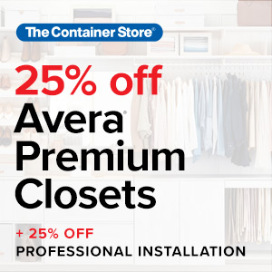 Image of 25% Avera Closets Offer