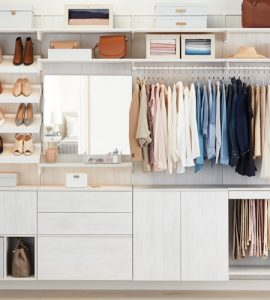 Image of organized closet
