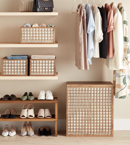 Image of Marie Kondo Closet Organizers