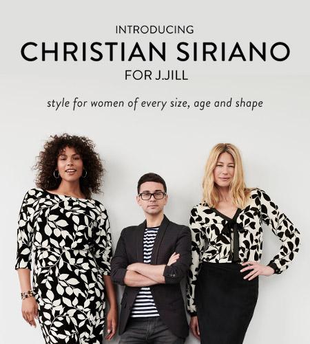 Christian Siriano collection at J.Jill*