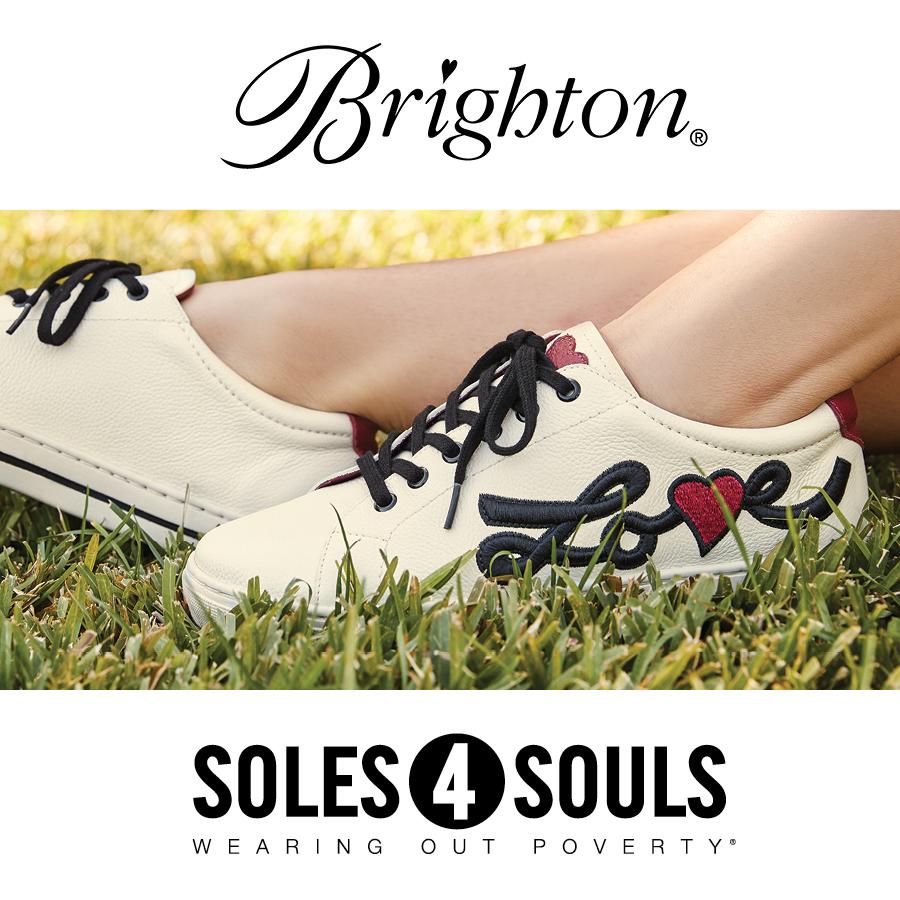 Shoe Donation event at Brighton